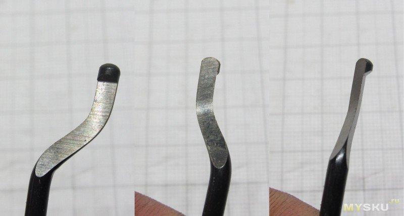 Набор римеров (фаскоснимателей, гратоснимателей)  с держателем
