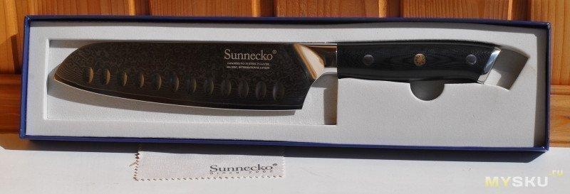 """Кухонный шеф нож SUNNECKO Premium 7"""""""