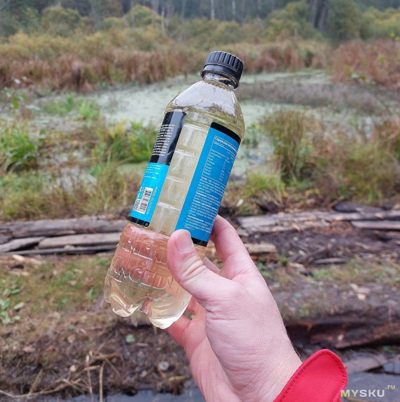 Компактный фильтр для воды Filterwell: выживаем на природе