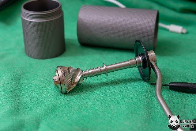 Обзор ручной кофемолки Timemore Chestnut C2 Up