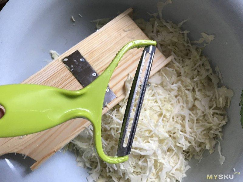 Слайсер для нарезки капусты и другие приспособления для шинковки