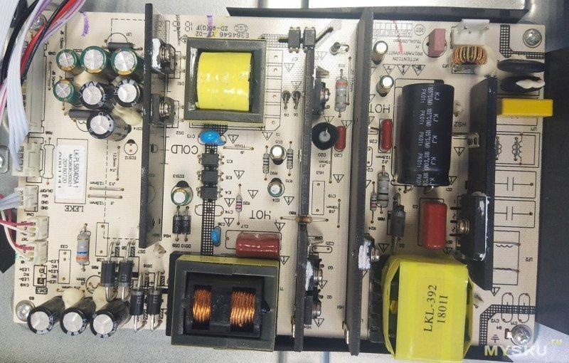 Замена подсветки телевизора BBK 55LEX6027/UTS2C