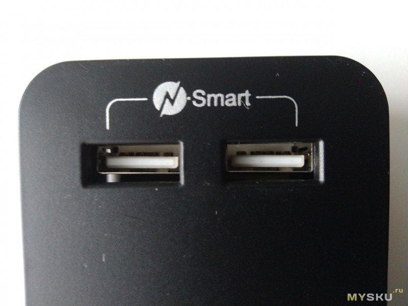 Удлинитель с двумя USB портами для рабочего места с ПК