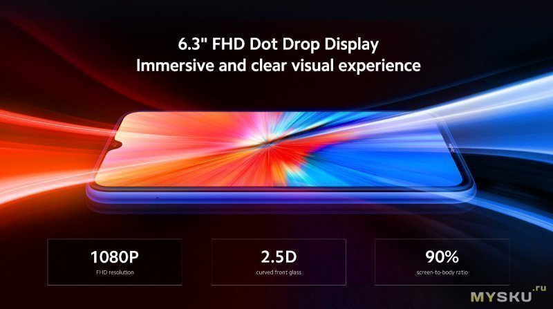 Xiaomi Redmi Note 8 v.2021 global 4 ГБ 64 ГБ за 5.00
