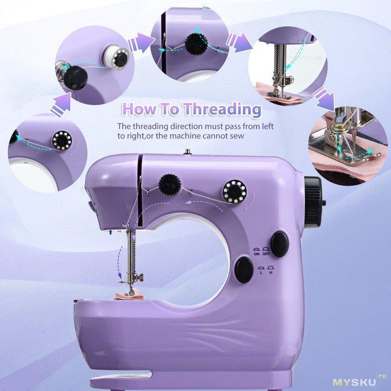 Компактная электрическая швейная машинка JETEVEN за .99