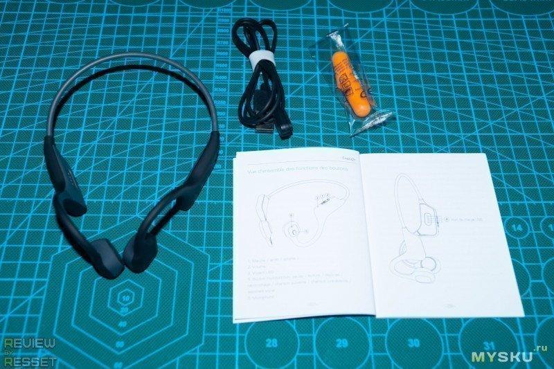 Беспроводные наушники BlitzWolf BW-BTS6 с технологией костной проводимости