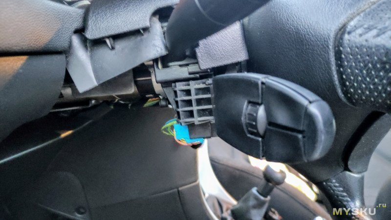 Установка круиз-контроля в Peugeot 307 своими руками. Заводской, оригинальный.