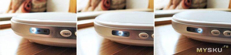 Sinocare White Noise Machine S5 - генератор белого шума с 20-ю записанными звуками и длительной работой от аккумулятора