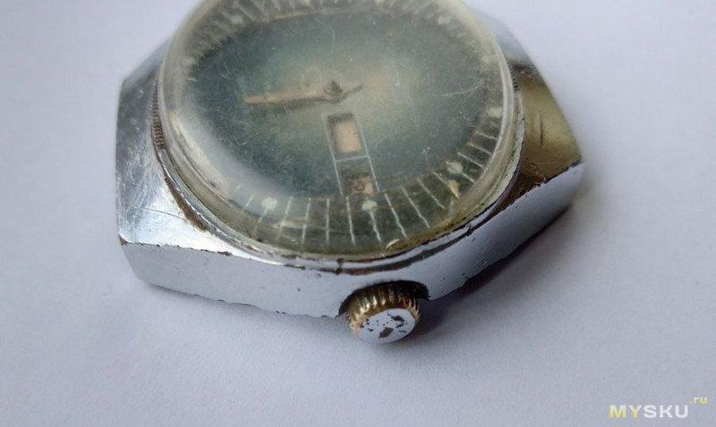 "Часы ""Полёт - Стадион"" калибр 2628Н 17 камней. Тонкости календаря."