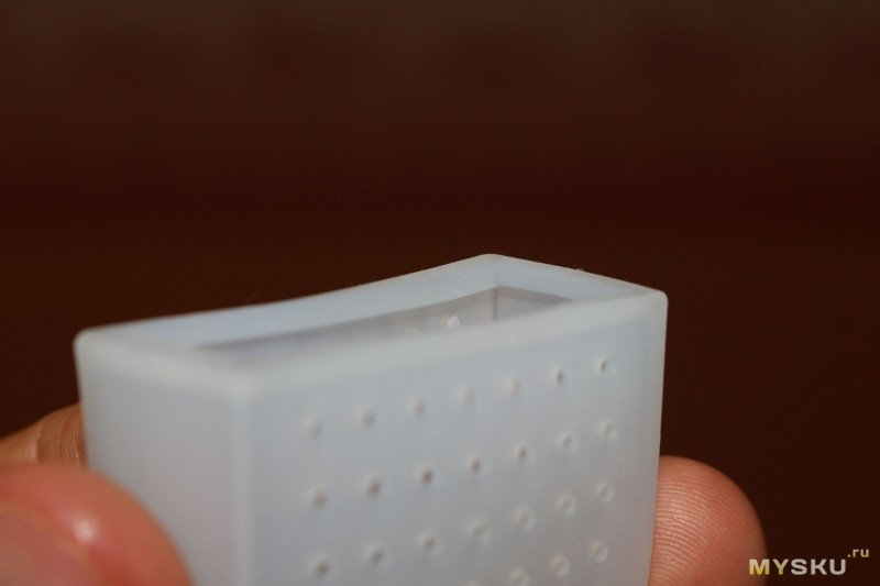 Многоразовый силиконовый пакет для заварки чая