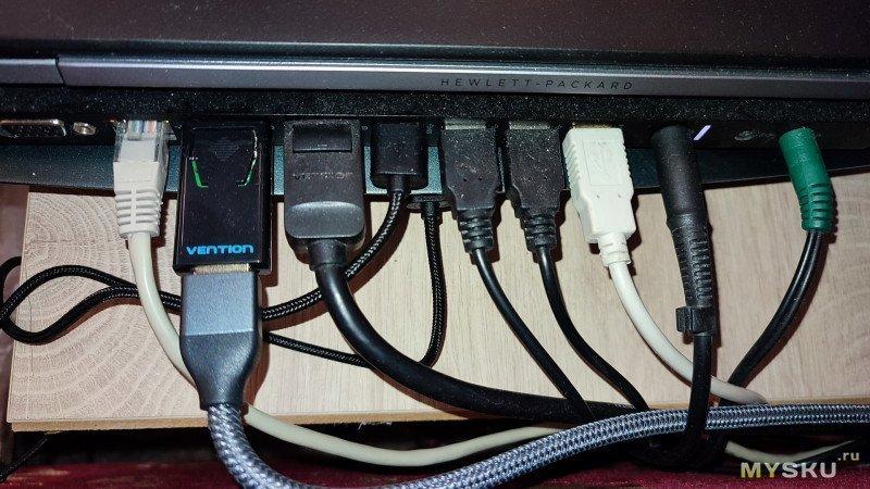 Конвертер Vention DP - HDMI 4K@30Hz. Мини-обзор с макро-съёмкой.