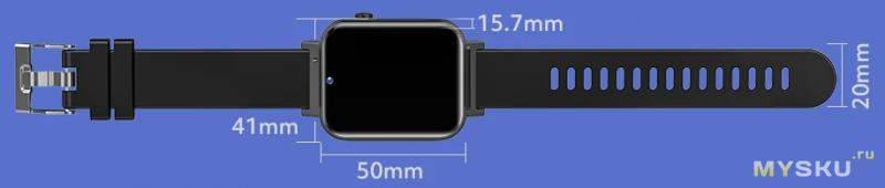 79.99$ Часы-телефон Rogbid Air