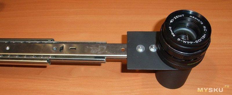 Крышки для объектива с резьбой М42х1 - собираем муськоскоп