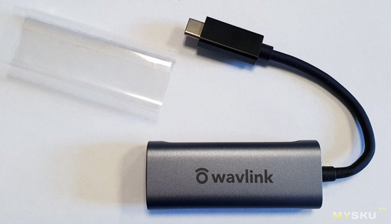 Внешняя 2,5 GbE сетевая карта Wavlink WL-NWU330GC