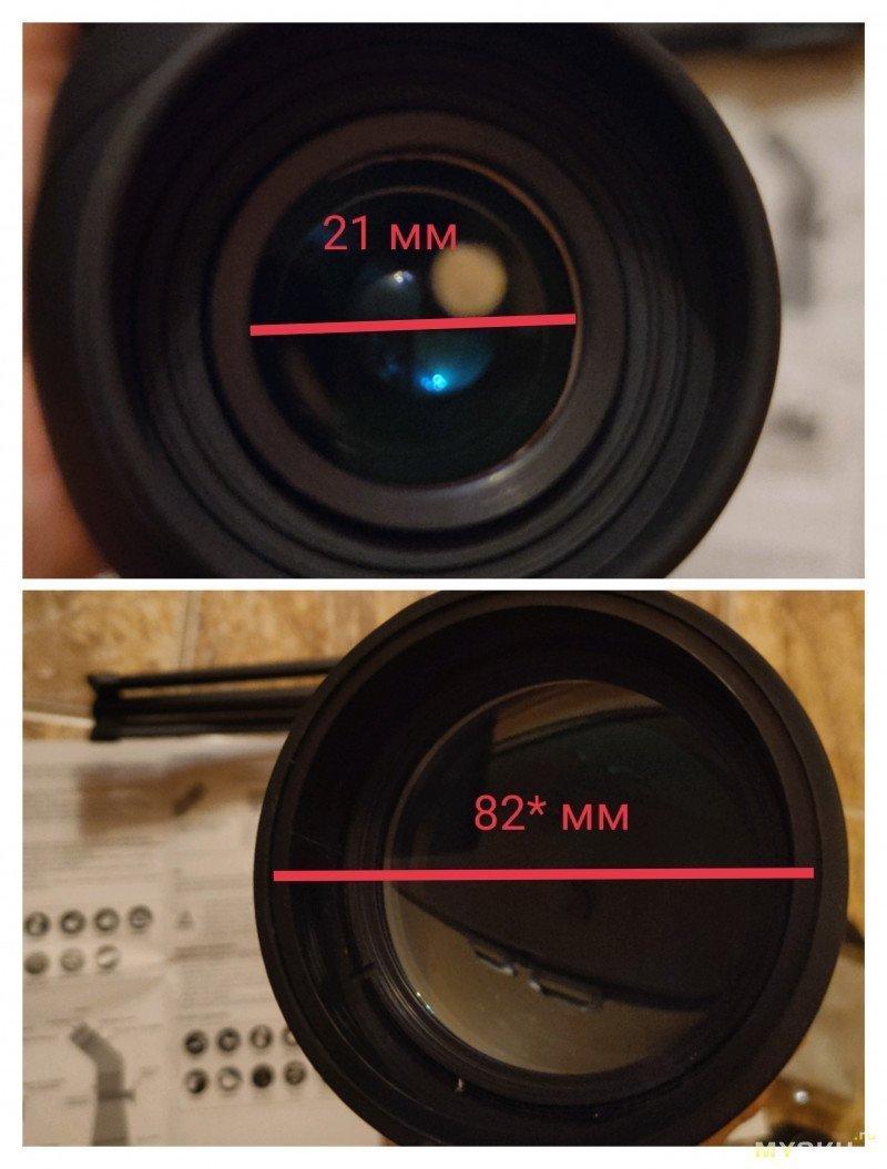 "Зрительная труба SVBONY SV28: ""premium"" black edition"