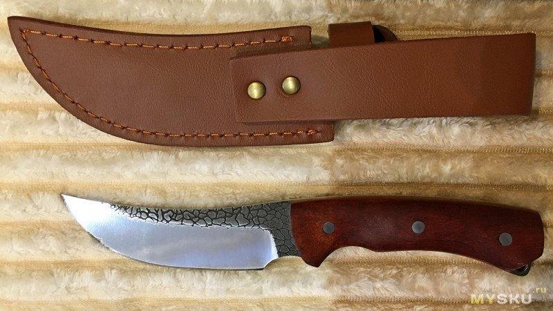 Любимец Бармалея или русский охотничий нож PEGASI из Поднебесной.