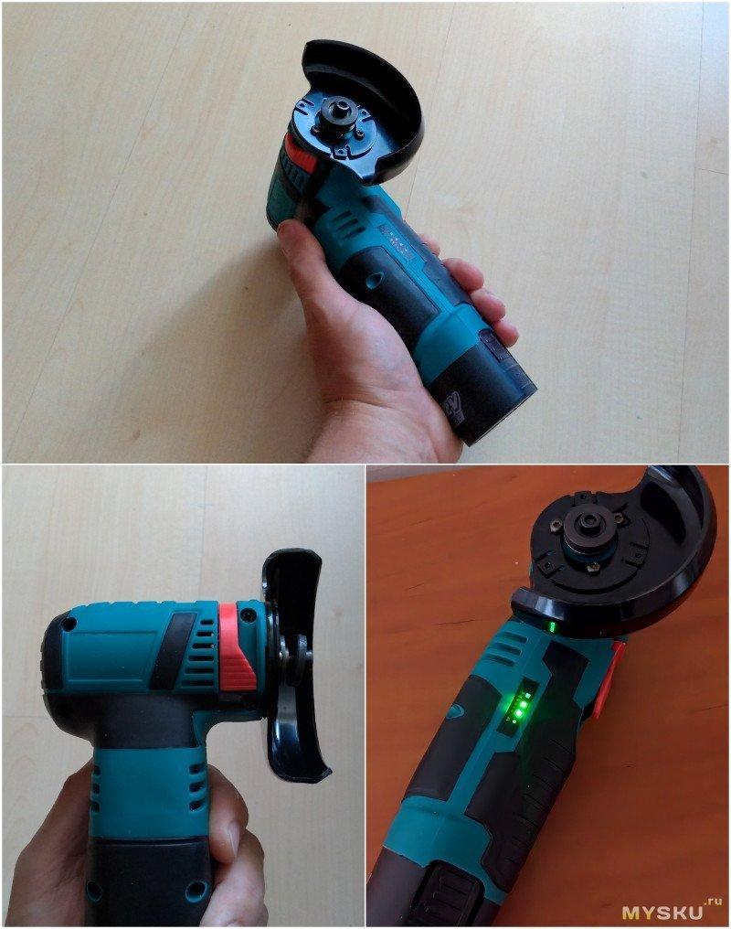 Аккумуляторная мини-болгарка. Инструмент для интеллигента.