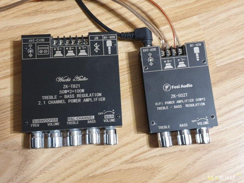 Недообзор очередного усилителя на TPA3116D2 (ZK-502T от Fosi Audio)