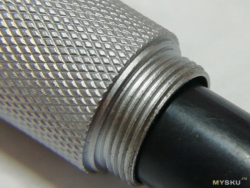 Японская алюминиевая авторучка. Многим нравится.